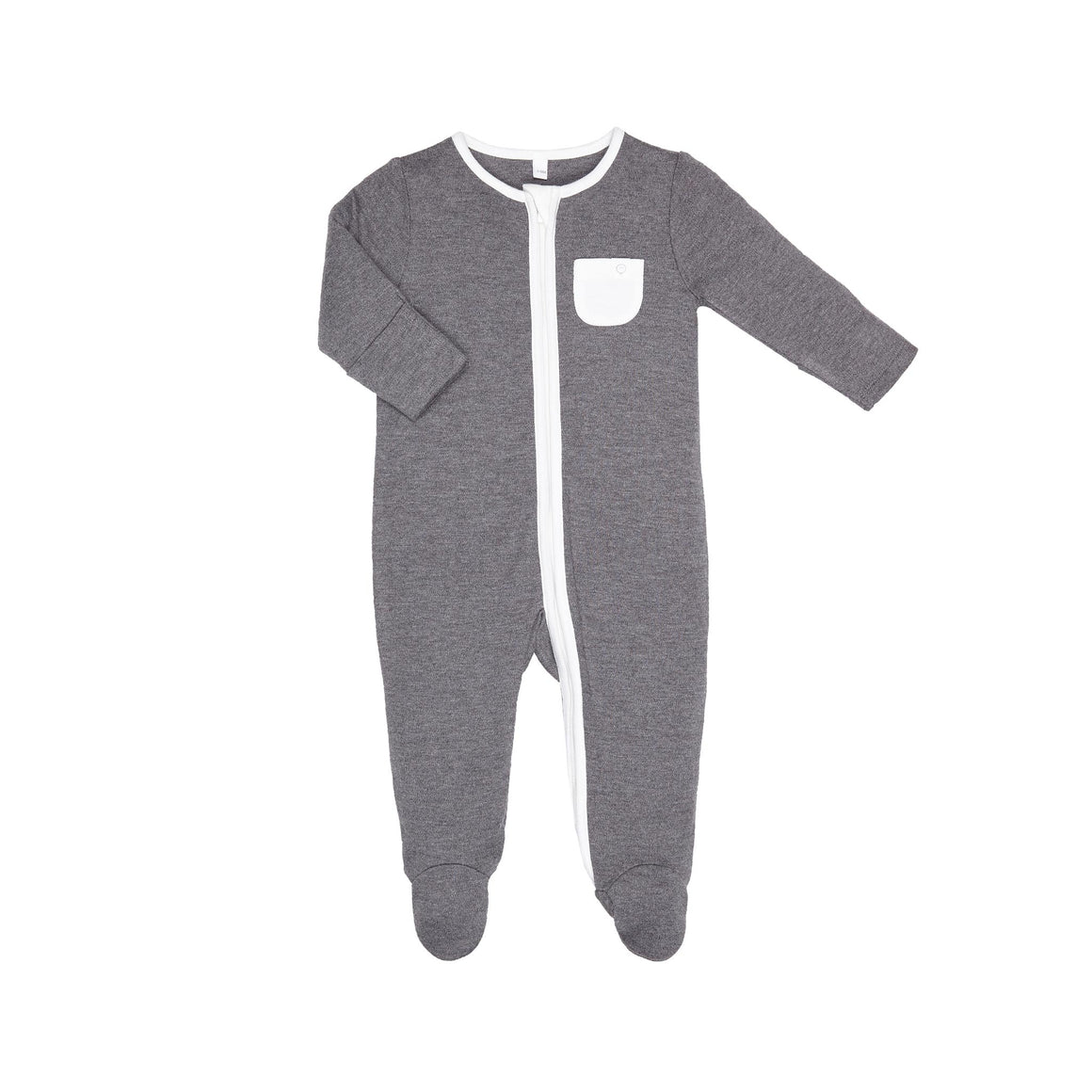 Zip-Up Sleepsuit in Lunar