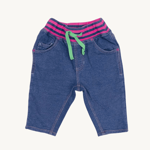 Gently Worn Frugi chick joggers size 12-18 months