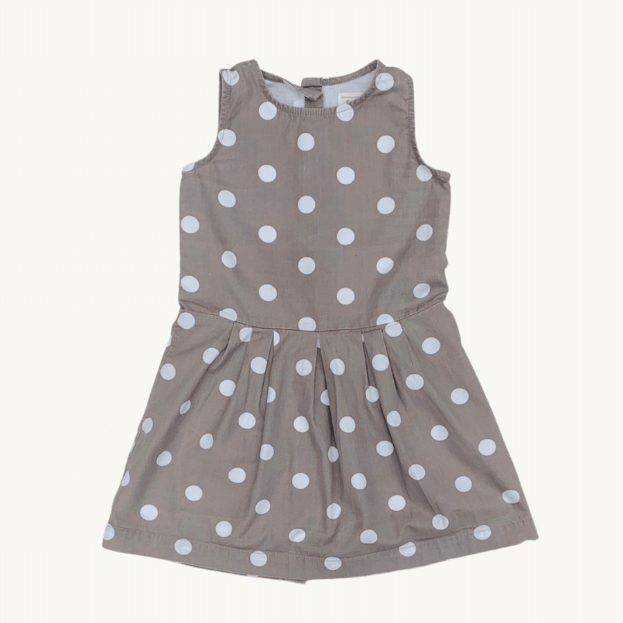 Hardly Worn Pigeon spotty dress size 3-4 years