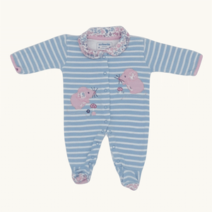 Needs TLC Jojo Maman Bebe mouse sleepsuit size Newborn