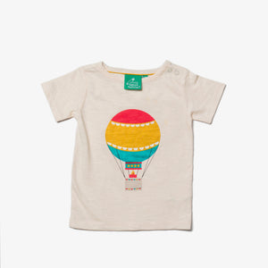 New Little Green Radicals hot air balloon t-shirt size 9-12months