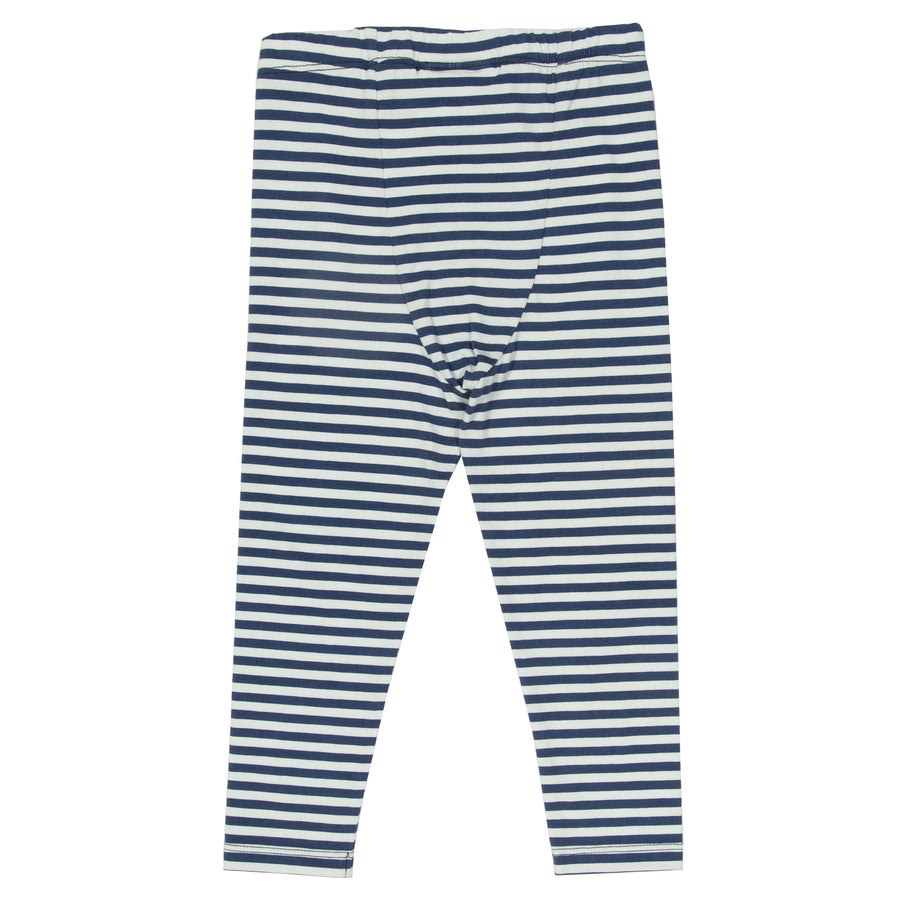Mini stripy leggings