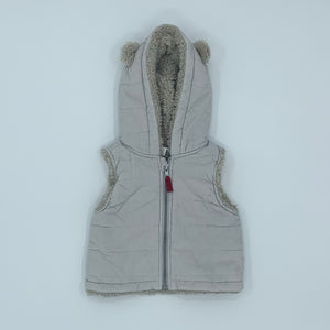 Hardly Worn The White Company vest size 3-6 months