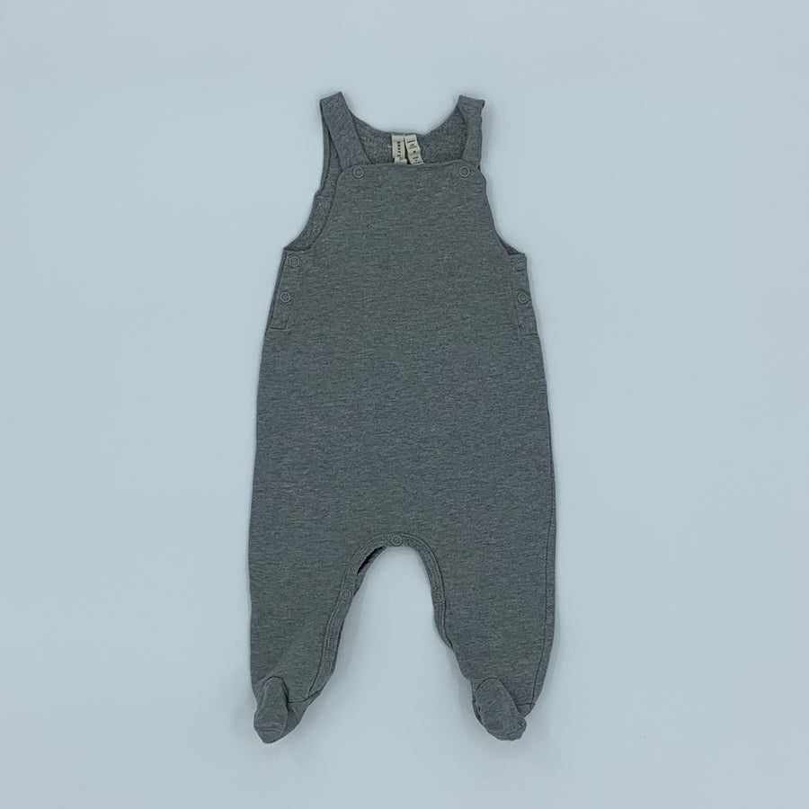 Hardly Worn Gray Label romper size 6-9 months