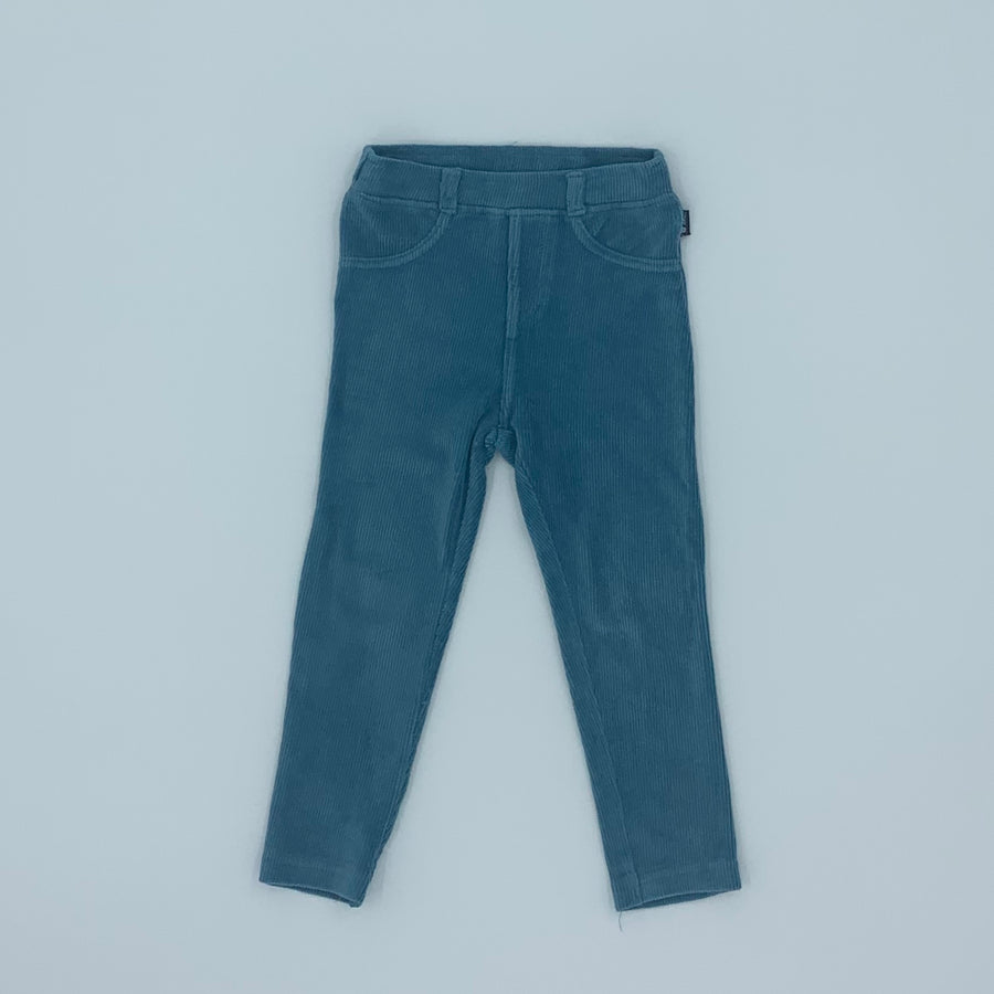 Hardly Worn Jojo Maman Bebe blue jeggings size 2-3 years