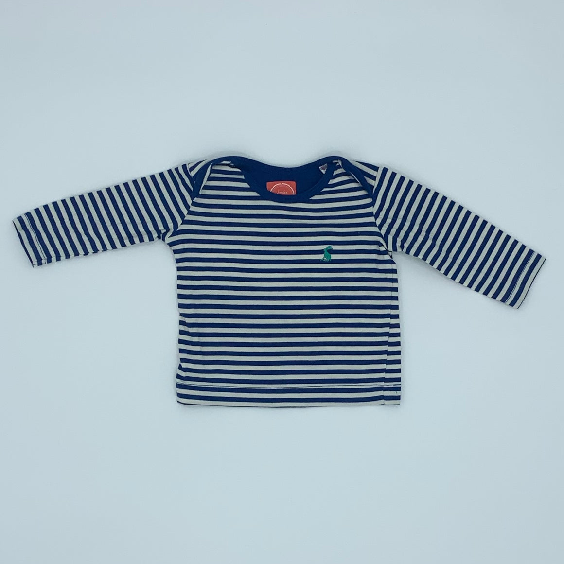 Hardly Worn Joules striped top size 0-3 months