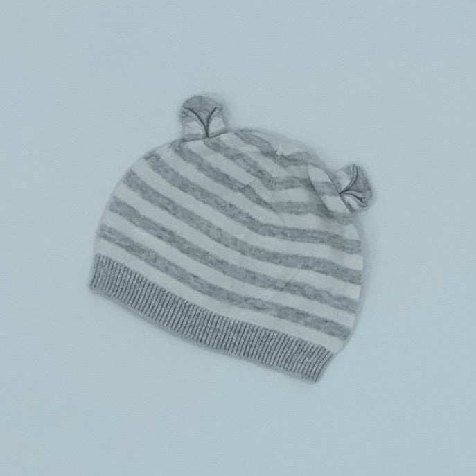 Hardly Worn The White Company striped knitted hat size 0-6 months