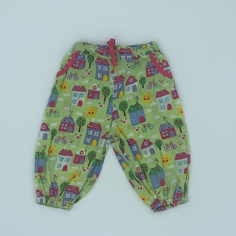 Gently Worn Frugi summer trousers size 6-12 months