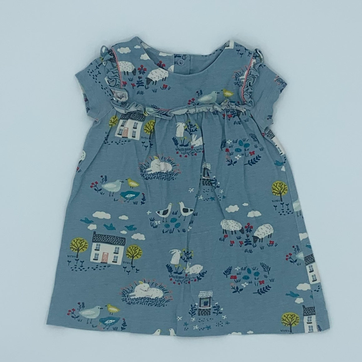 Hardly Worn Boden farmhouse dress size 6-12 months