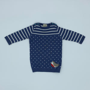 Gently Worn Frugi knitted jumper size 3-6 months