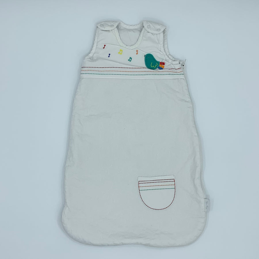 Gently Worn Silver Cross bird embroidery size 0-6 months