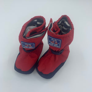 Hardly Worn Jojo Maman Bebe waterproof booties size 12-18 months