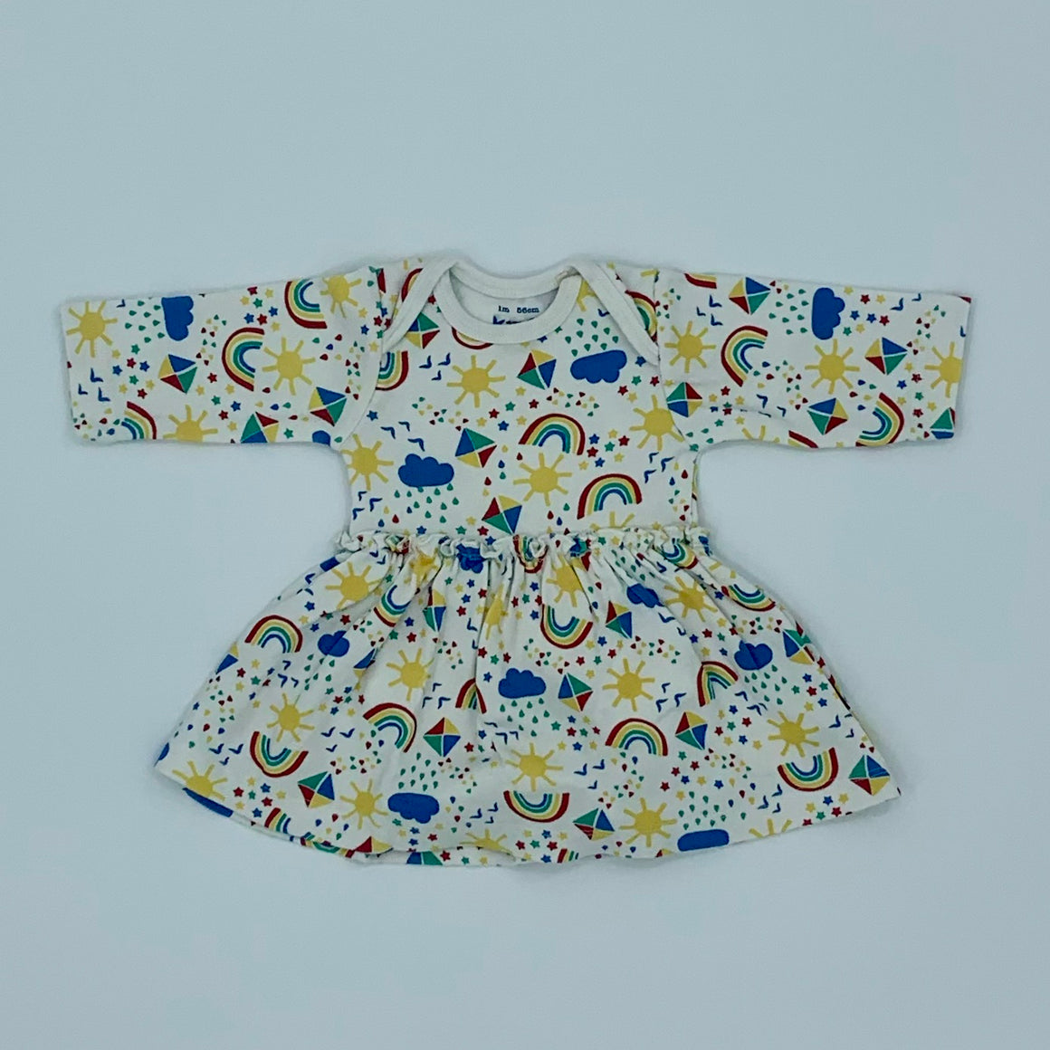 Hardly Worn Kite all-in-one sky dress size 0-1 months