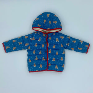 Hardly Worn Boden bear water resistant jacket size 12-18 months