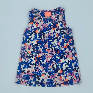Needs TLC Joules flower dress size 2-3 years