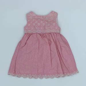 Hardly Worn John Lewis summer dress size 6-9 months