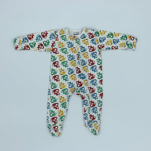 Hardly Worn Kite zip-up sleepsuit size 3-6 months