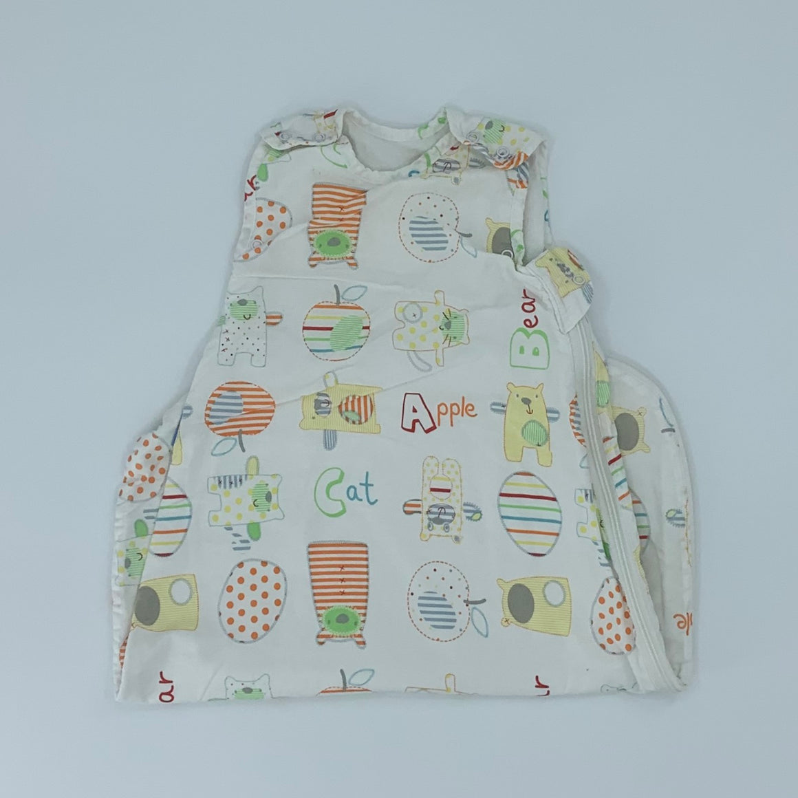 Hardly Worn Gro Company alphabet 1 tog size 0-6 months