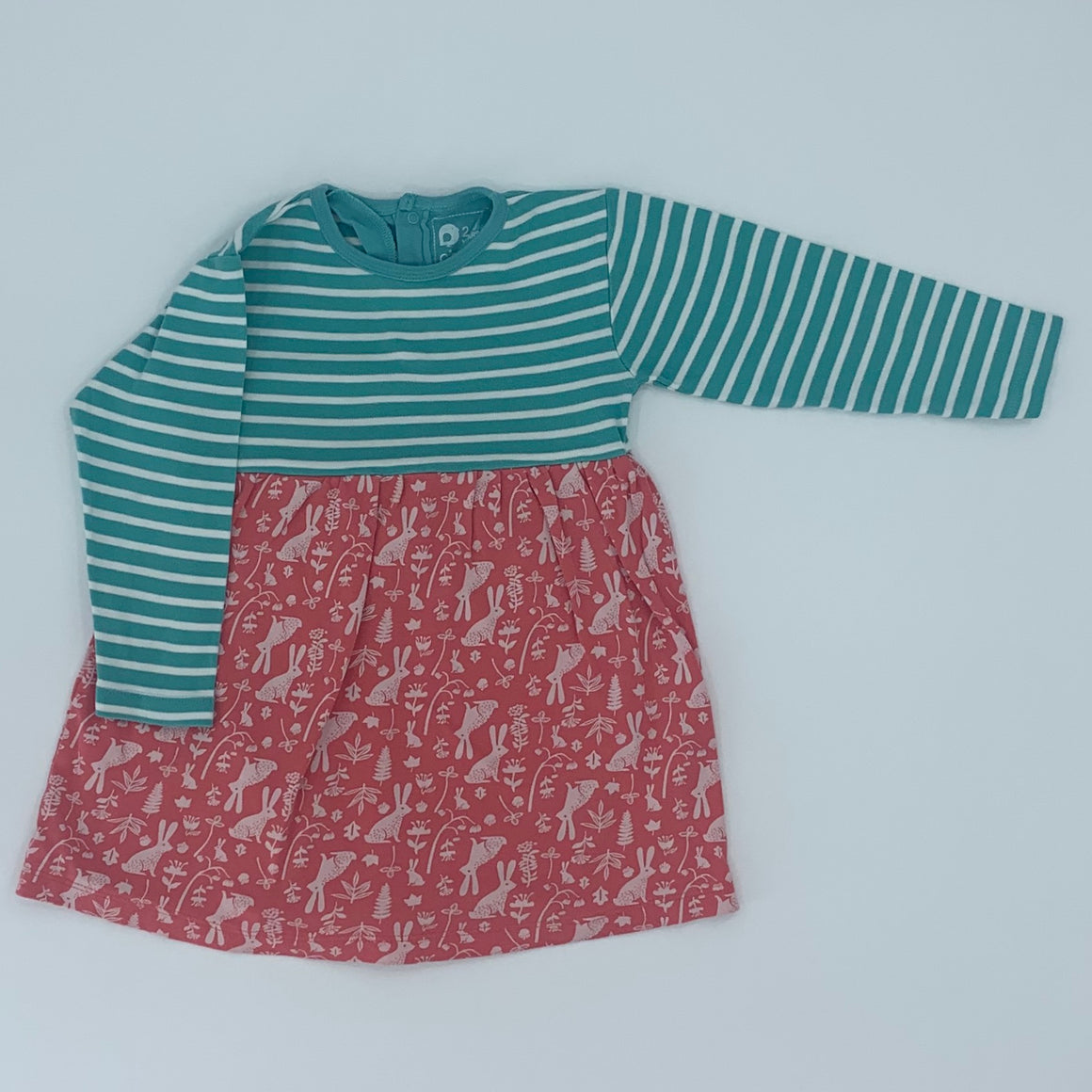 Gently Worn Piccalilly all-in-one bunny dress size 2-3 years