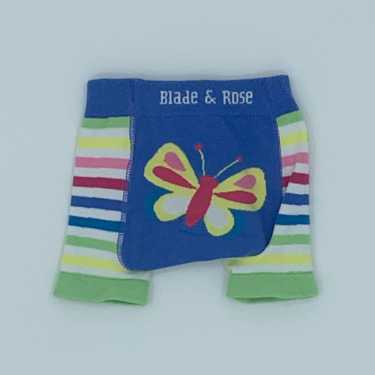 Hardly Worn Blade & Rose butterfly knit shorts size 6-12 months