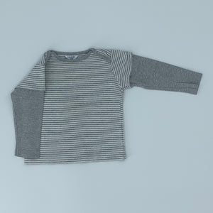 Hardly Worn Boden grey two-in-one top size 12-18 months