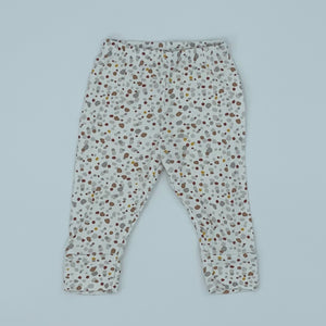 Hardly Worn Baby Mori pebble leggings size 6-9 months