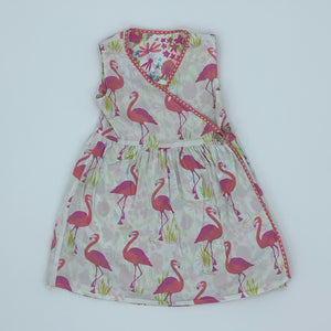Gently Worn Kite reversible dress size 3-4 years