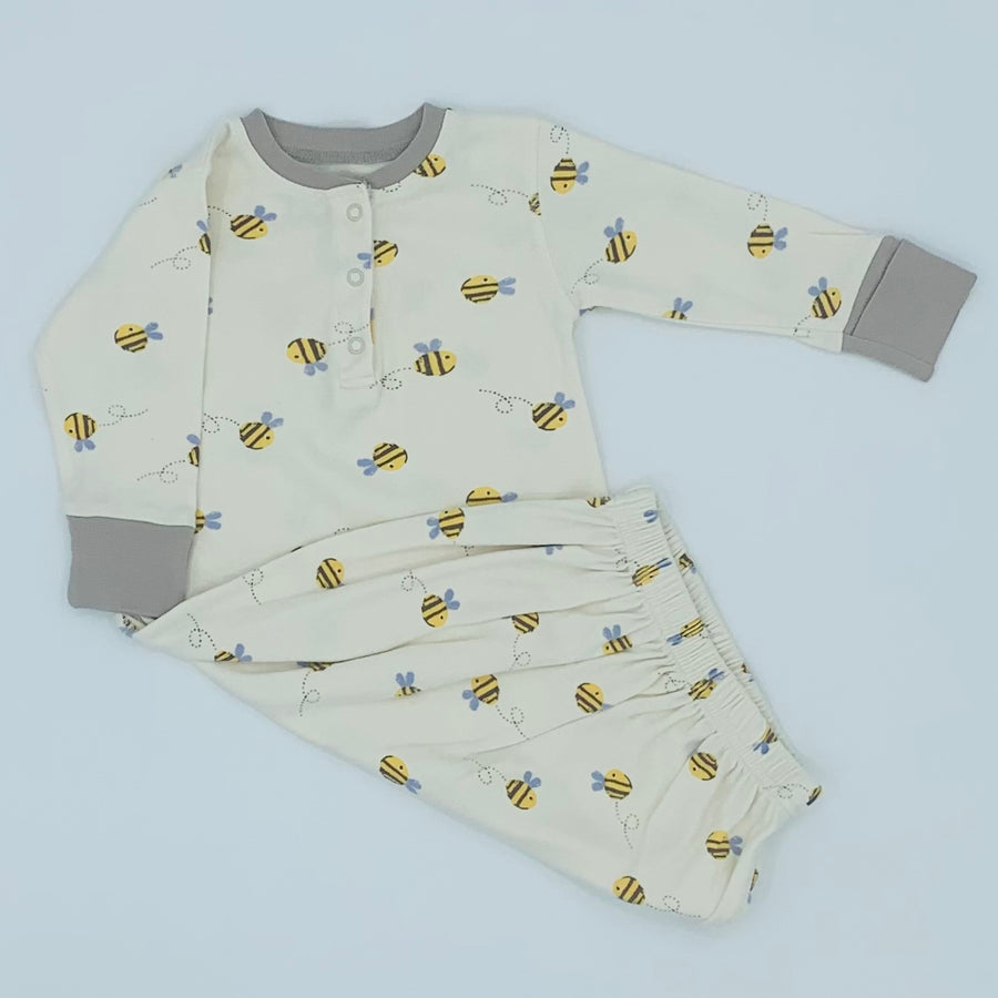 Hardly Worn Frugi bee sleeping gown