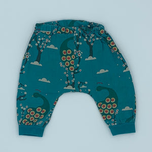 Needs TLC Little Green Radicals blossom joggers size 3-6 months
