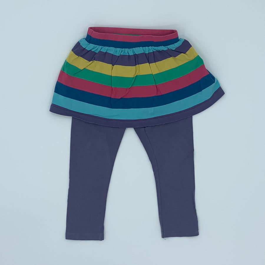 Gently Worn Frugi two-in-one skirt size 2-3 years