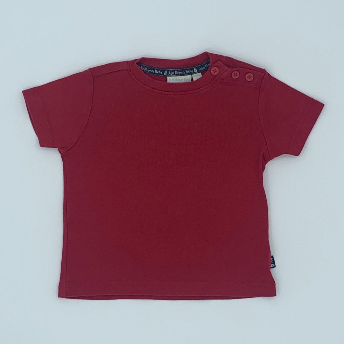 Gently Worn Jojo Maman Bebe red box t-shirt size 18-24 months