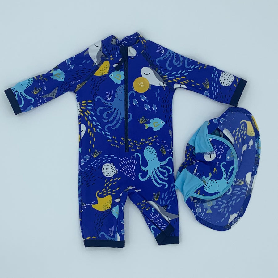 New John Lewis swimwear set size 6-9 months
