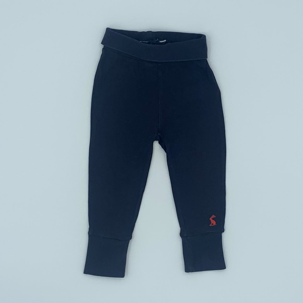 Gently Worn Joules navy leggings size 6-9 months