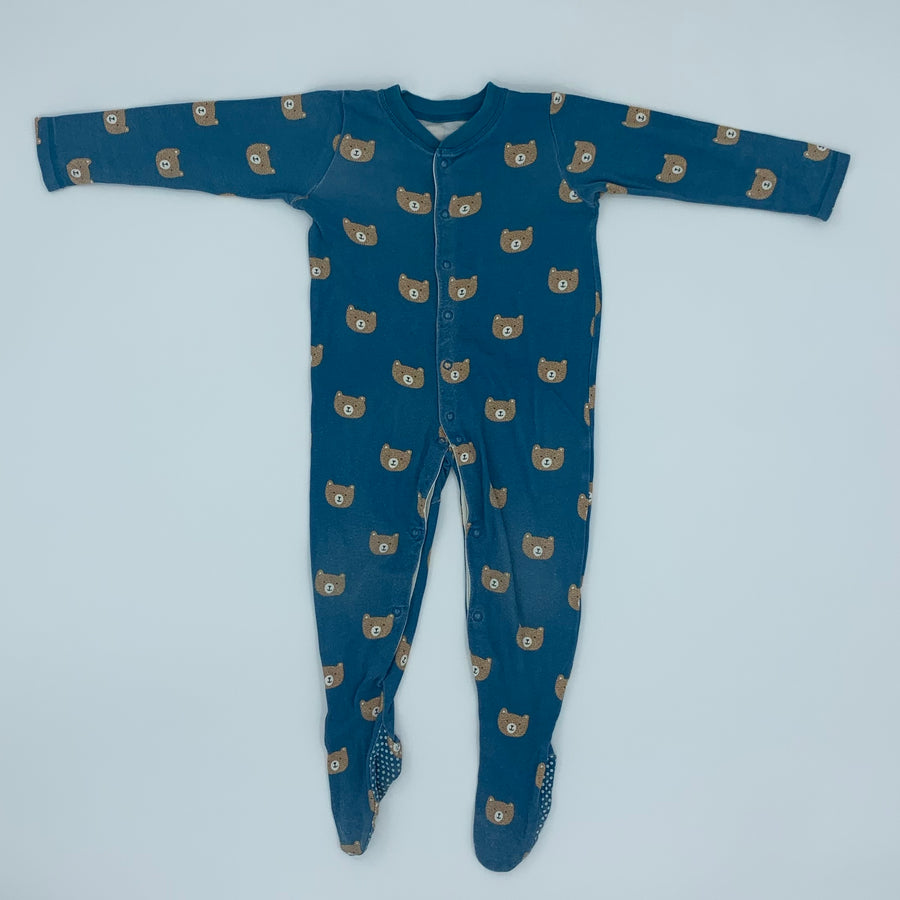 Needs TLC John Lewis bear sleepsuit size 18-24 months