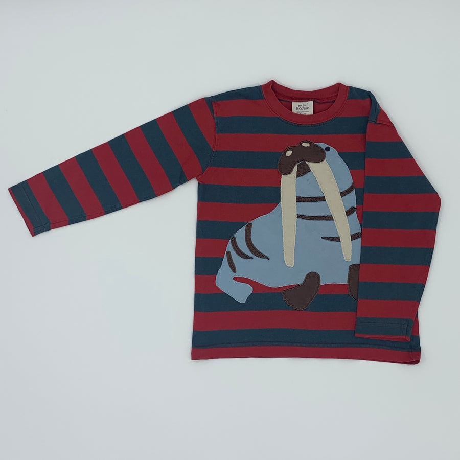 Gently Worn Boden walrus top size 5-6 years