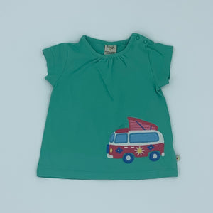 Gently Worn Frugi camper top size 12-18 months