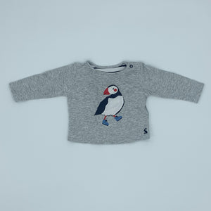 Gently Worn Joules puffin set size 3-6 months