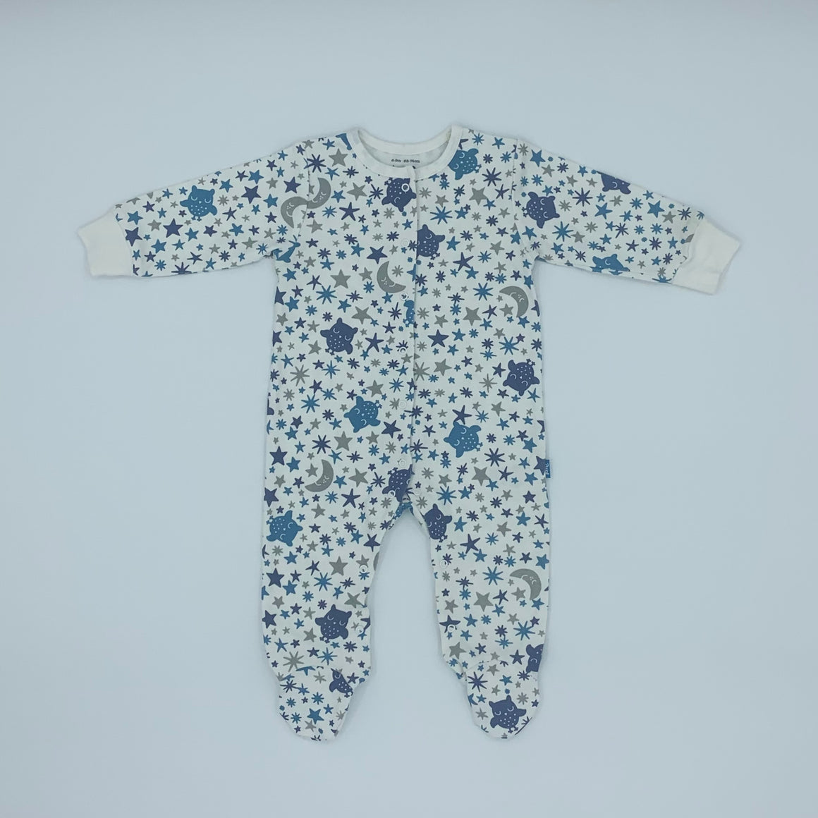Never Worn Kite owl & star sleepsuit size 6-9 months