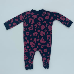 Gently Worn Scamp & Dude romper size 3-6 months