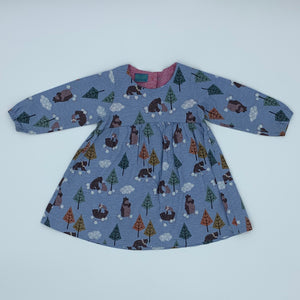 Hardly Worn Charlotte Pugh dress size 18-24 months