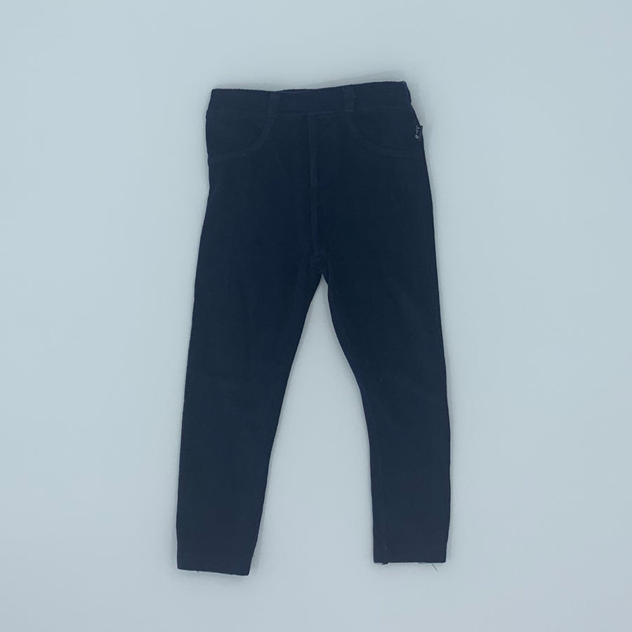Hardly Worn Jojo Maman Bebe navy jeggings size 2-3 years