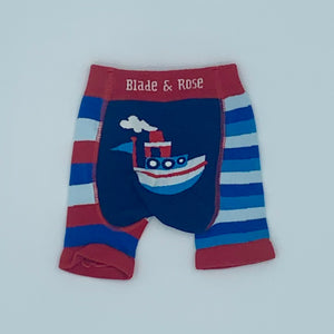 Hardly Worn Blade & Rose boat knit shorts size 6-12 months