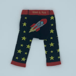 Gently Worn Blade & Rose rocket knit leggings size 6-12 months