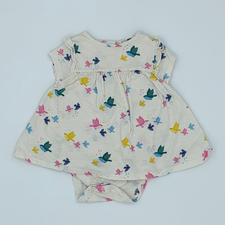 Hardly Worn John Lewis bird all-in-one size 18-24 months