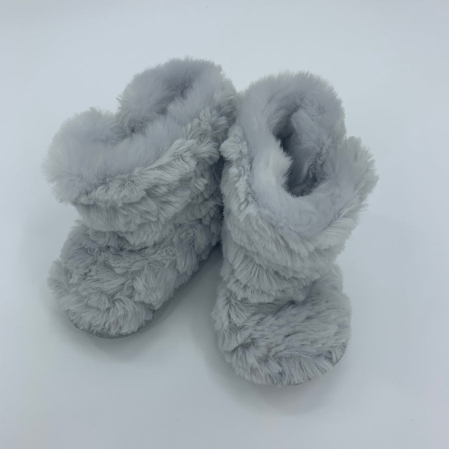 Hardly Worn The White Company slippers size 0-6 months