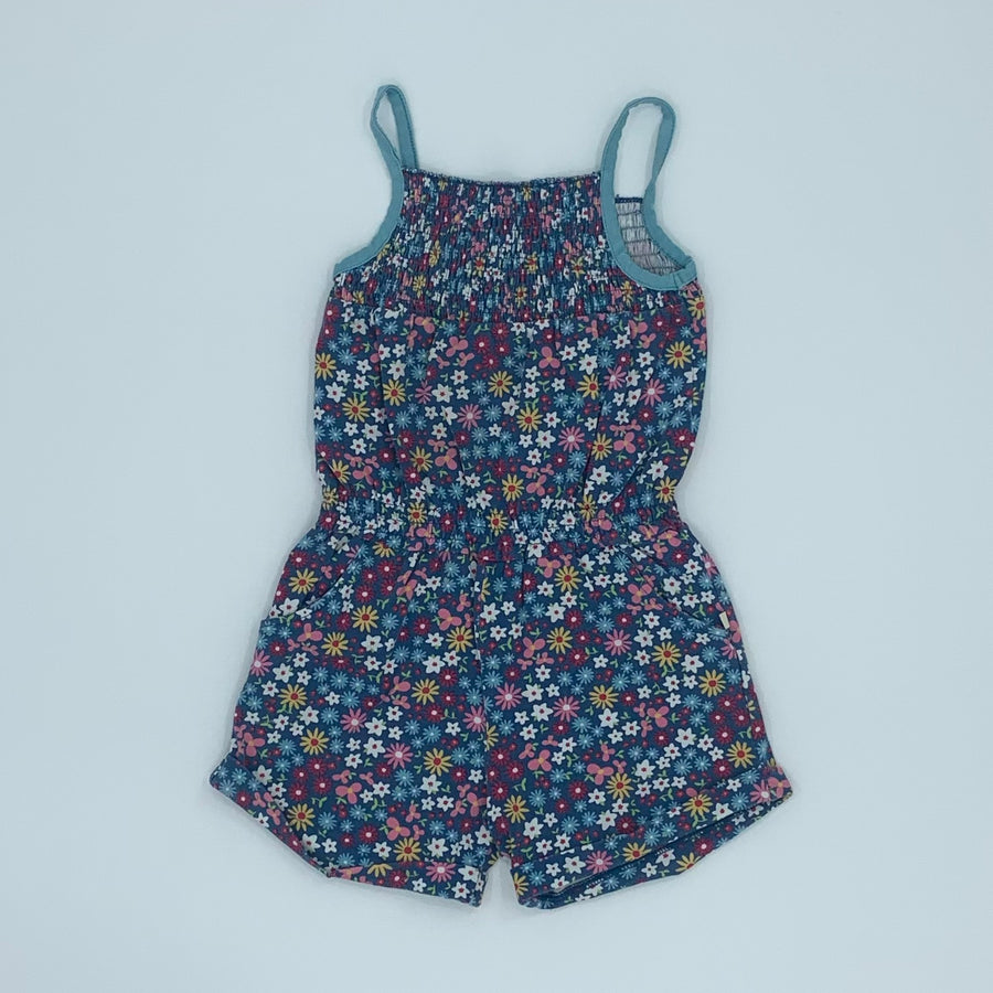 Needs TLC Frugi flower playsuit size 4-5 years