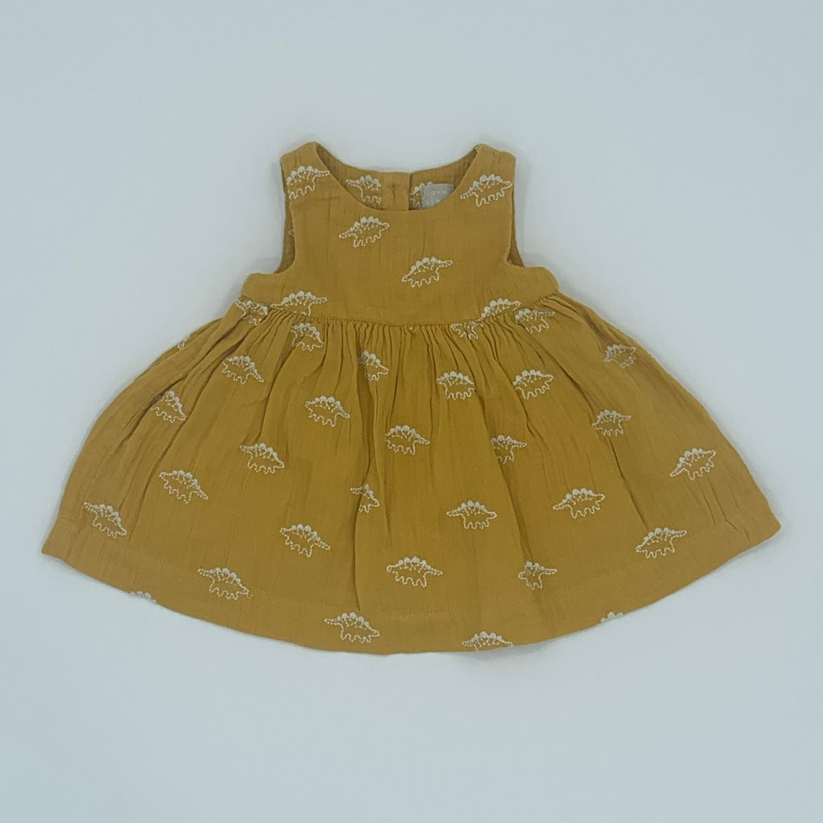 Hardly Worn John Lewis dinosaur dress size 0-3 months