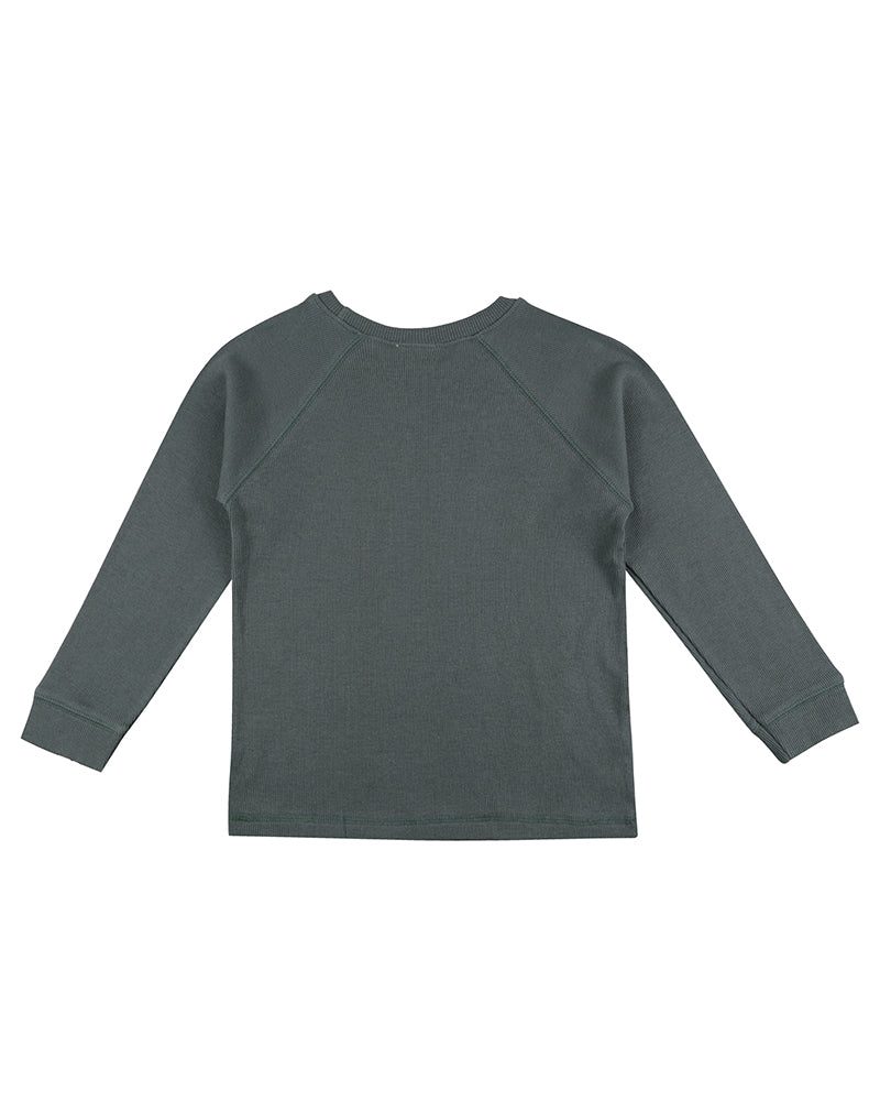 Rib layering top in steel