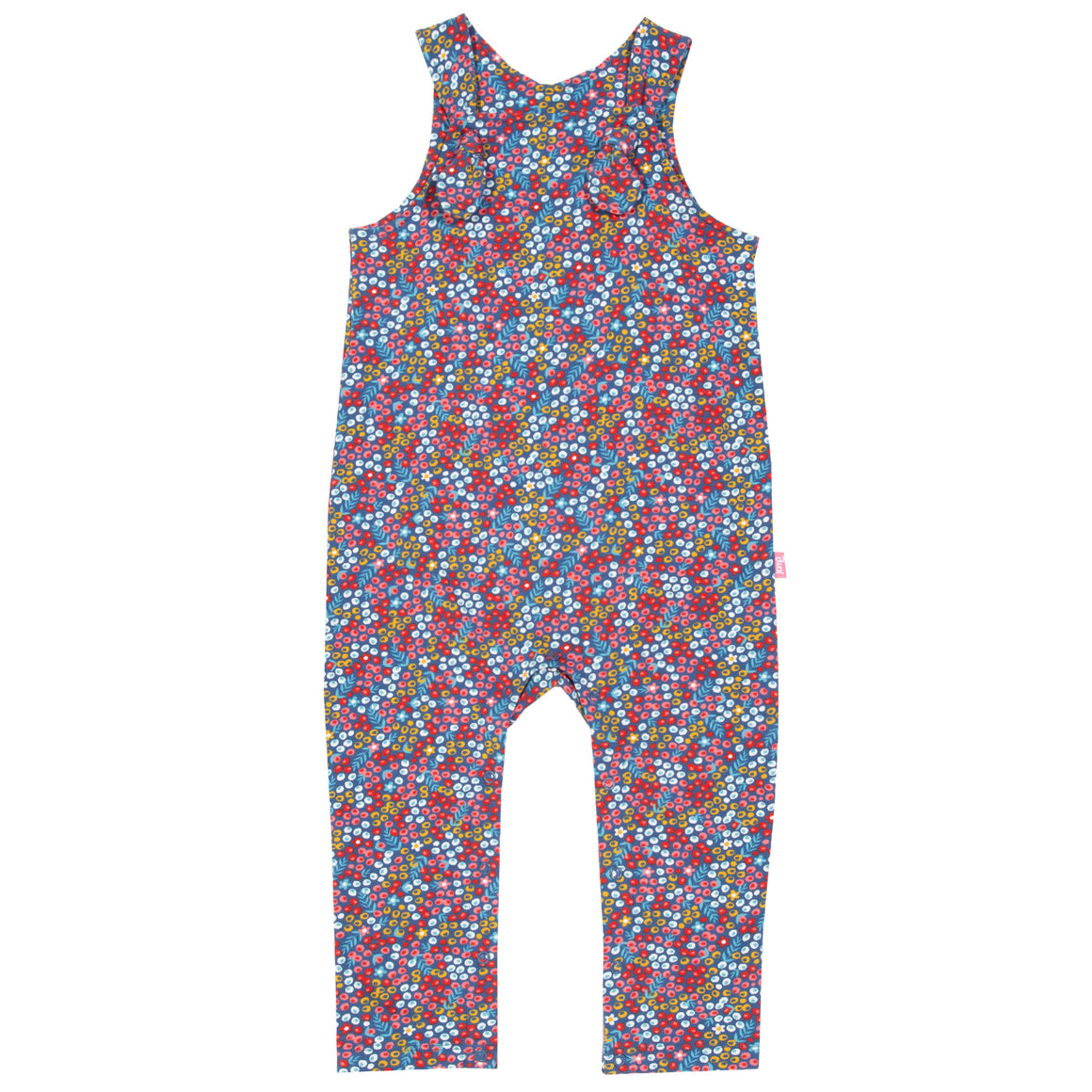 New Kite berry ditsy dungarees size 9-12 months