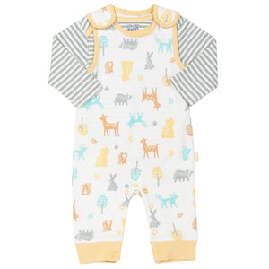 Woodland dungaree set